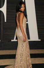 CHANEL IMAN at Vanity Fair Oscar Party in Hollywood