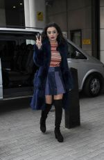 CHARLI XCX Arrives at BBC Radio 1 Studios in London