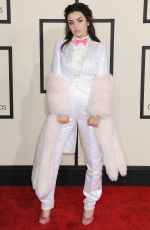 CHARLI XCX at 2015 Grammy Awards in Los Angeles