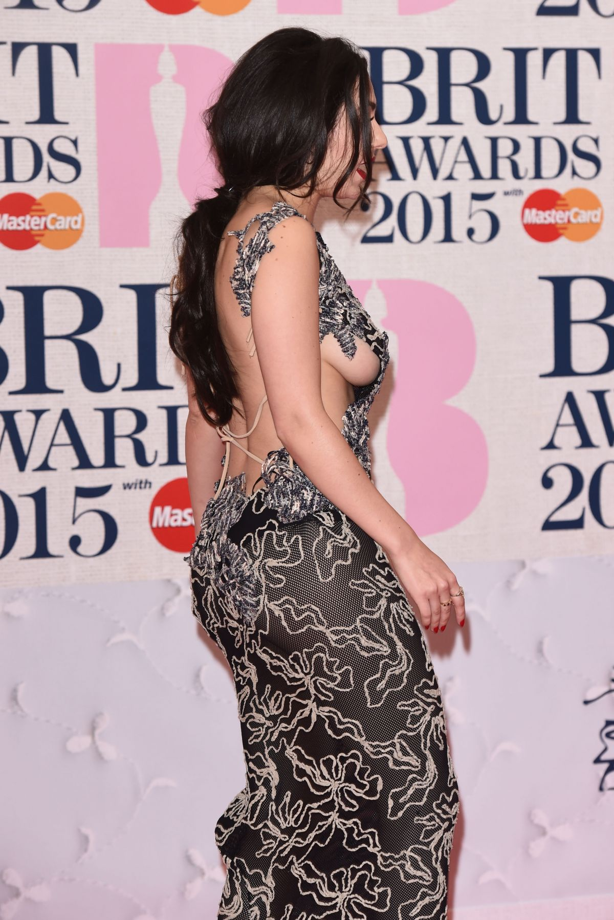 Charli Xcx At Brit Awards 2015 In London Hawtcelebs
