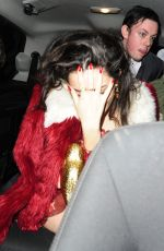 CHARLI XCX Leaves Warner Music Brit Party in London