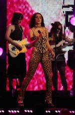 CHARLI XCX Performs at Jimmy Kimmel Live! in Hollywood