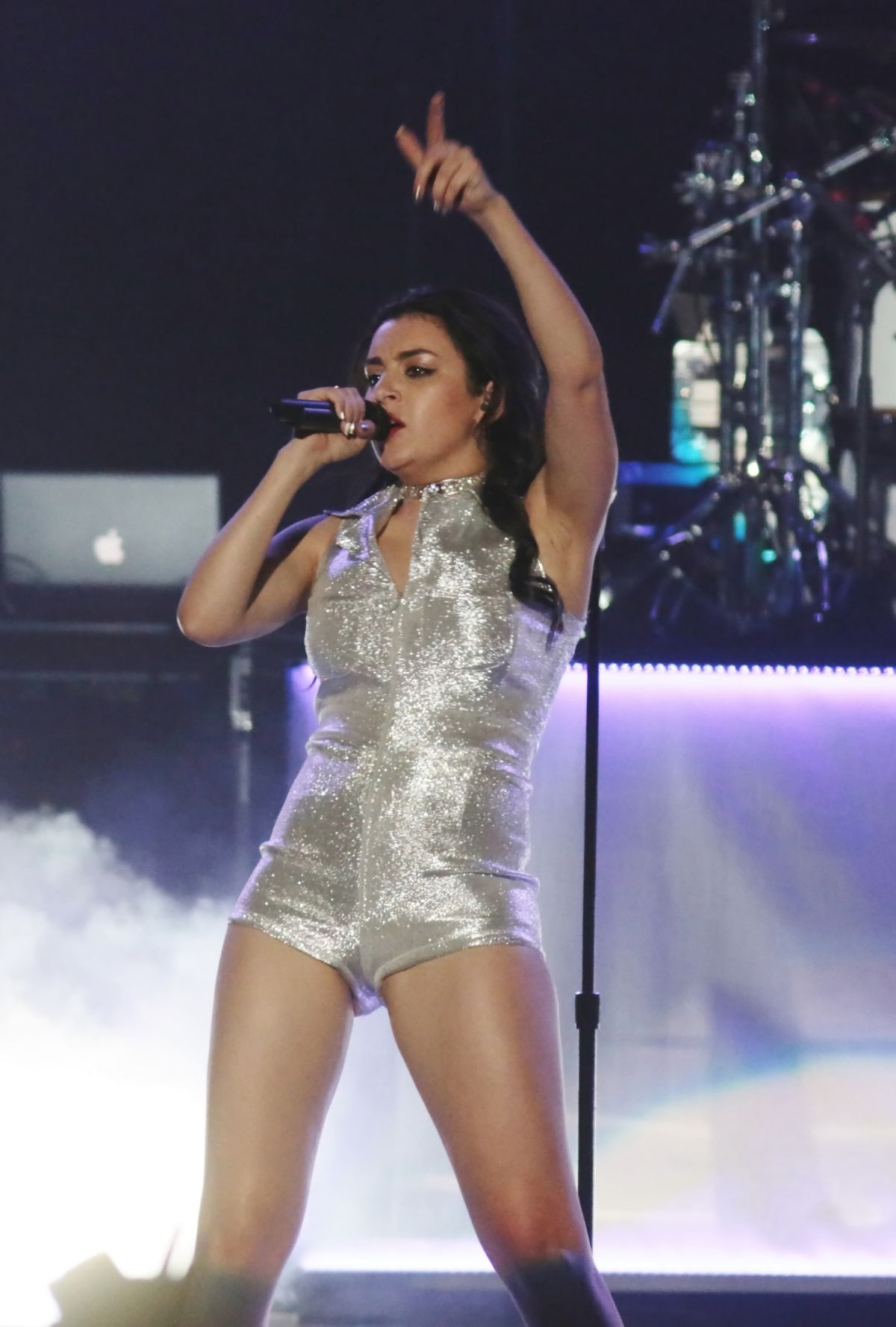 CHARLI XCX Performs on Prismatic Tour in Milan