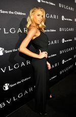 CHARLOTTE MCKINNEY at Bvlgari and Save the Children stop. think. give. Pre-oscar Gala in Beverly Hills