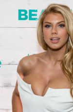 CHARLOTTE MCKINNEY at John Frieda Hair Care Beach Blonde Collection Party in New York