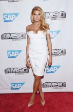 CHARLOTTE MCKINNEY at MSG Networks Original Programming Party at Madison Square Garden