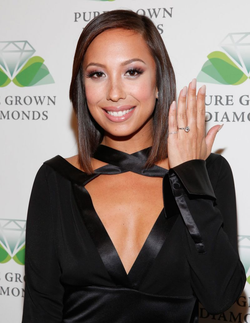 CHERYL BURKE at Pure Grown Diamonds at Pre-oscar Party in Los Angeles