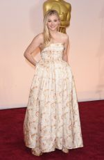 CHLOE MORETZ at 87th Annual Academy Awards at the Dolby Theatre in Hollywood