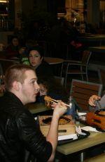 CHLOE MORETZ at Bibigo Bar & Dining in Century City