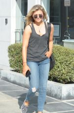 CHLOE MORETZ in jeans Out and About in West Hollywood 0502