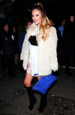 CHLOE SIMS Night Out in London 3101