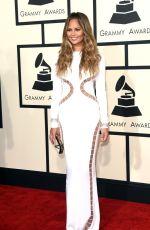 CHRISSY TEIGEN at 2015 Grammy Awards in Los Angeles