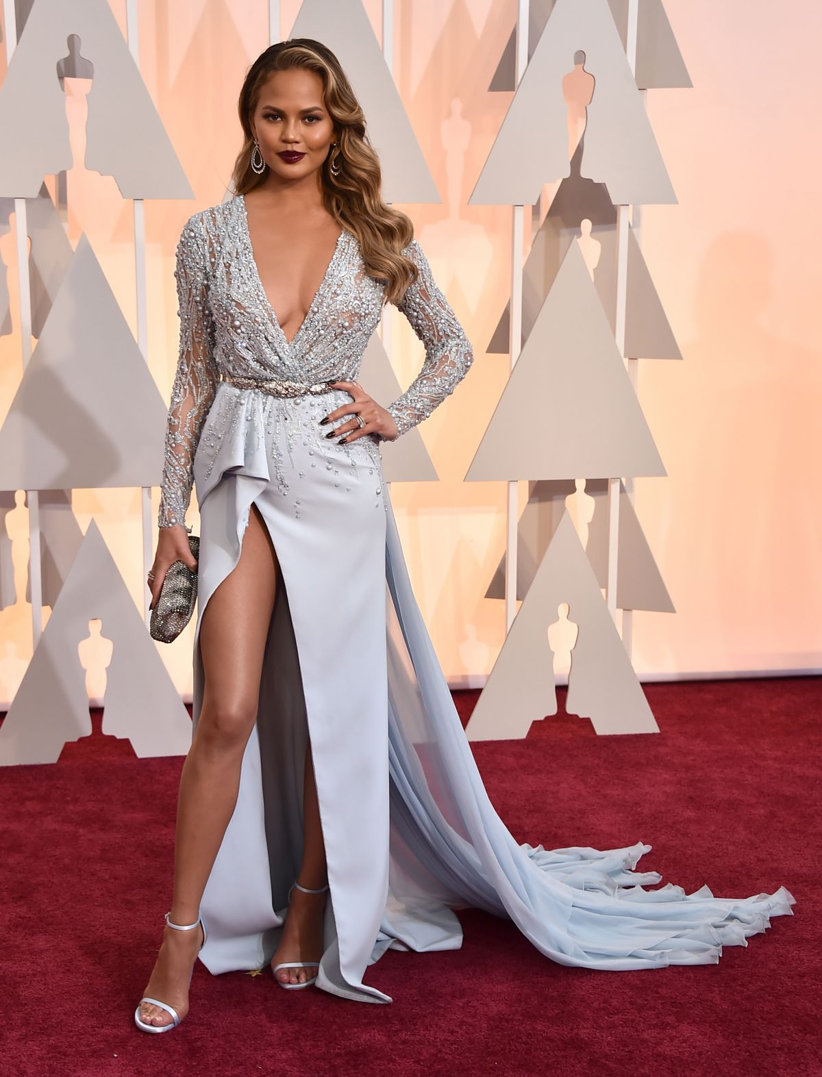 CHRISSY TEIGEN at 87th Annual Academy Awards at the Dolby Theatre in Hollywood