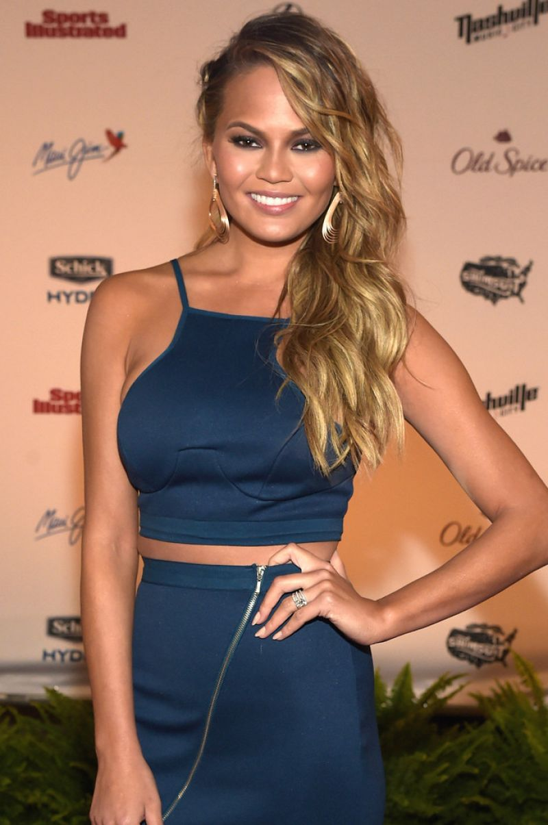 CHRISSY TEIGEN at SI Swimsuit 2015 Takes Over the Schermerhorn Symphony Center in Nashville