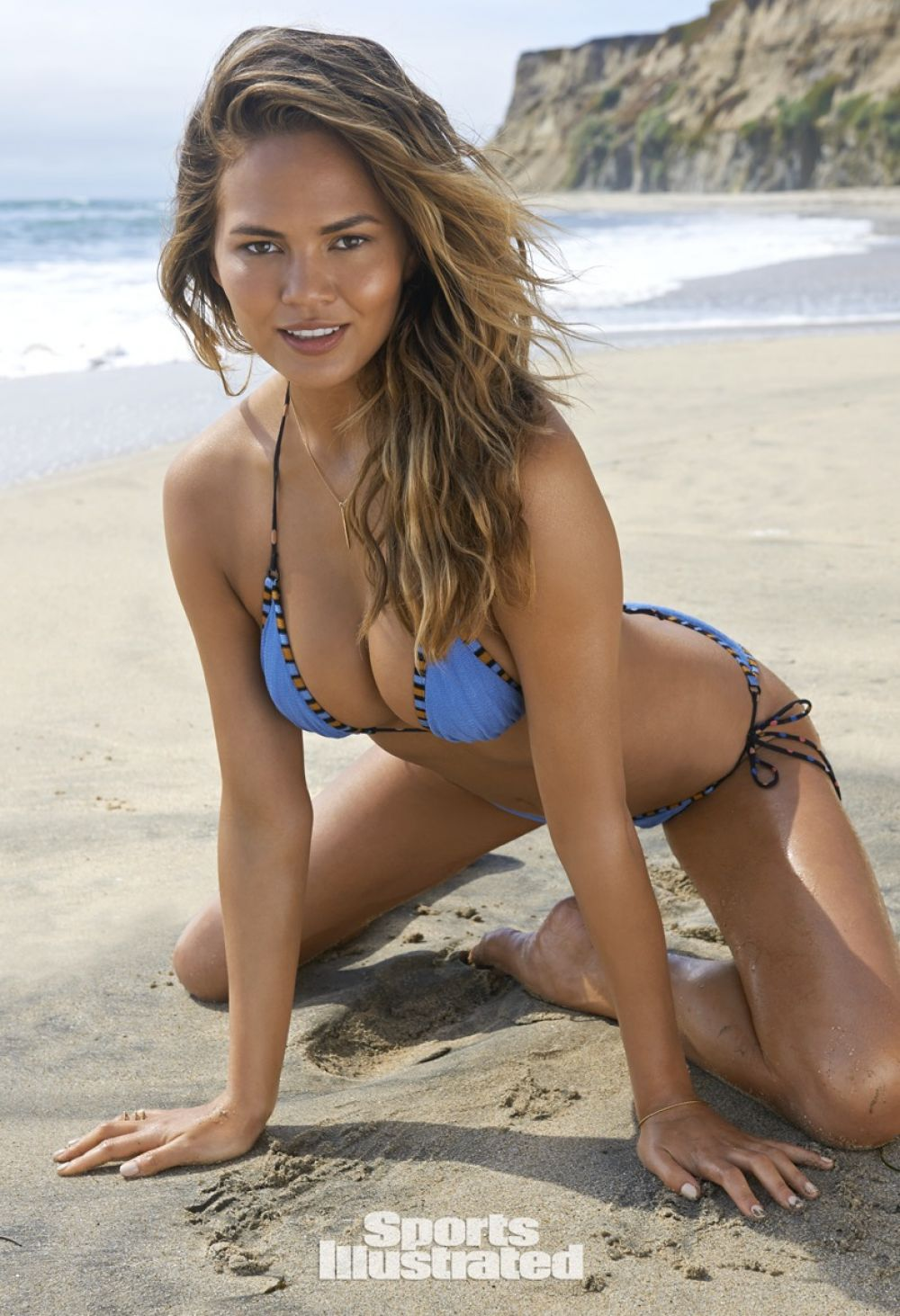 CHRISSY TEIGEN in Sports Illustrated Swimsuit 2015 Issue - HawtCelebs ...