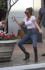 CHRISSY TEIGEN Out and About in West Hollywood 040