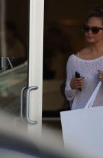 CHRISSY TEIGEN Out Shopping in Miami 2302