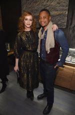 CHRISTINA HENDRICKS at David Yurman Soho Boutique Opening Benefit Event in New York