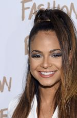 CHRISTINA MILIAN at Naomi Campbell's Fashion for Relif Charity Fashion Show in New York
