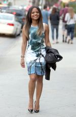 CHRISTINA MILIAN Out and About in Los Angeles 2702