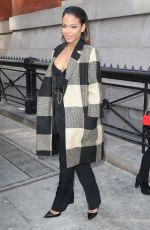 CHRISTINA MILIAN Out at Fashion Week in New York