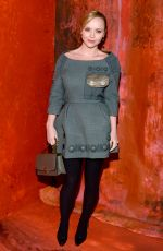 CHRISTINA RICCI at Marc Jacobs Fashion Show in New York