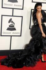 CIARA at 2015 Grammy Awards in Los Angeles
