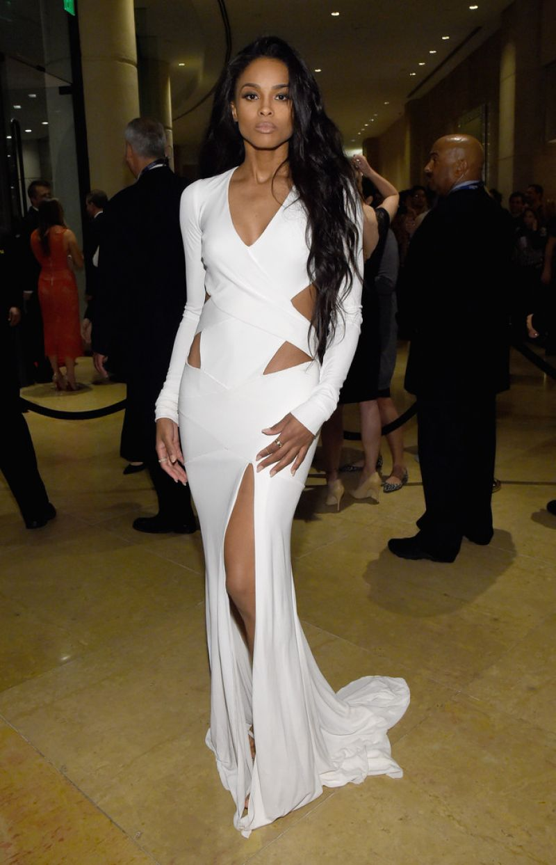 CIARA at Pre-grammy Gala and Salute to Industry Icons in Beverly Hills