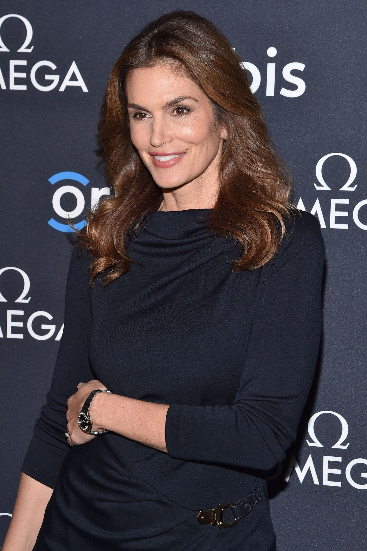 CINDY CRAWFORD at The Hospitality in thr Sky Screening in New York