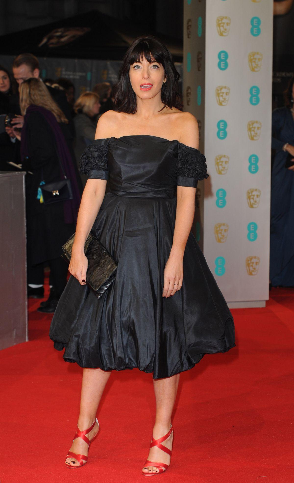 CLAUDIA WINKLEMAN at 2015 EE British Academy Film Awards in London