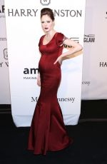 COCO ROCHA at 2015 Amfar Gala in New York