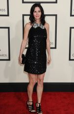 COURTNEY COX at 2015 Grammy Awards in Los Angeles