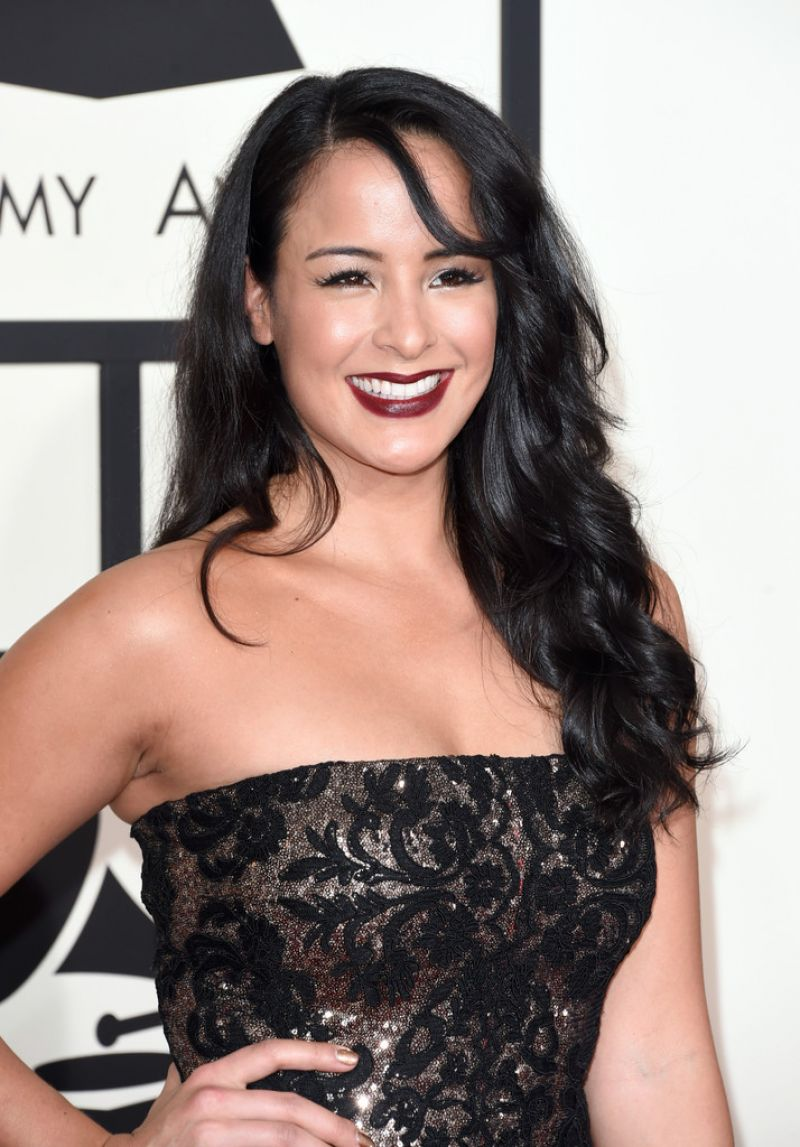 COURTNEY REED at 2015 Grammy Awards in Los Angeles
