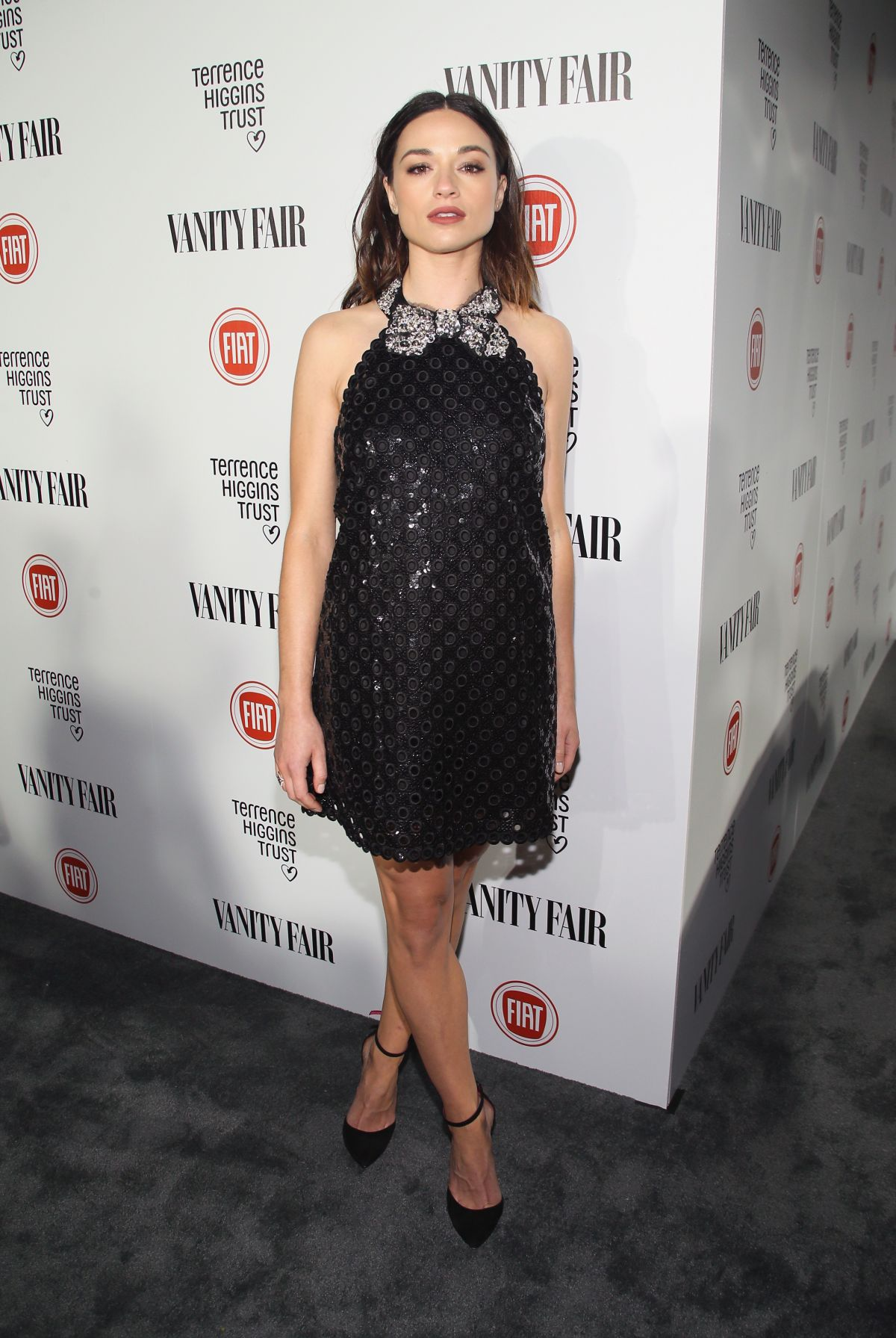 CRYSTAL REED at Vanity Fair and Fiat Celebration of Young Hollywood in Los Angeles