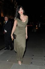 DAISY LOWE Arrives at veryexclusive.co.uk Launch Party in London