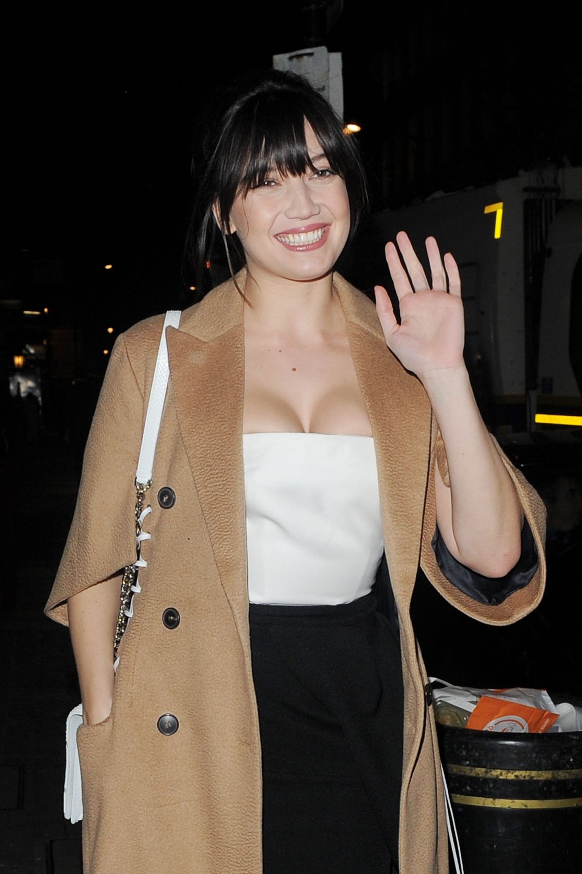 DAISY LOWE at Diorama Luanch at Dover Street Market in London
