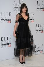 DAISY LOWE at Elle Style Awards in London