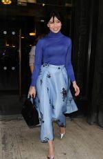 DAISY LOWE at Emilia Wickstead Fashion Show in London