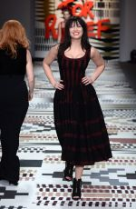 DAISY LOWE at Fashion for Relief Charity Fashion Show in London