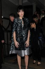 DAISY LOWE at Giles Fashion Show in Lonndon