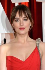 DAKOTA JOHNSON at 87th Annual Academy Awards at the Dolby Theatre in Hollywood