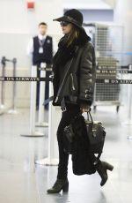 DAKOTA JOHNSON at JFK Airport in New York 2302