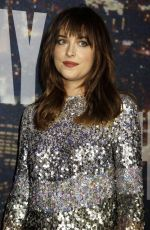 DAKOTA JOHNSON at SNL 40th Anniversary Celebration in New York