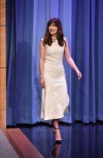DAKOTA JOHNSON at The Tonight Show in New York