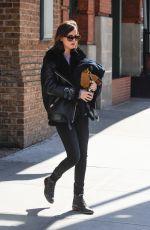 DAKOTA JOHNSON Leaves Her Hotel in New York 2502