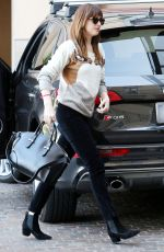 DAKOTA JOHNSON Out and About in Beverly Hills 2202