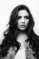 DANIELLE CAMPBELL on the Set of a Phostoshoot