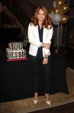 DEBBY RYAN at Jesie 100th Episode Celebration in Los Angeles