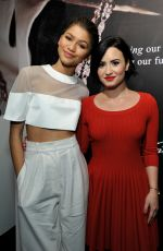 DEMI LOVATO at 2nd Annual unite4:humanity in Los Angeles