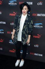 DEMI LOVATO at Roc Nation Grammy Brunch in Beverly Hills